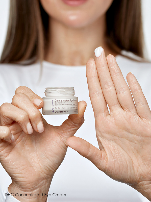 3 Eye Creams to Hydrate Dry Under Eyes: DHC Concentrated Eye Cream