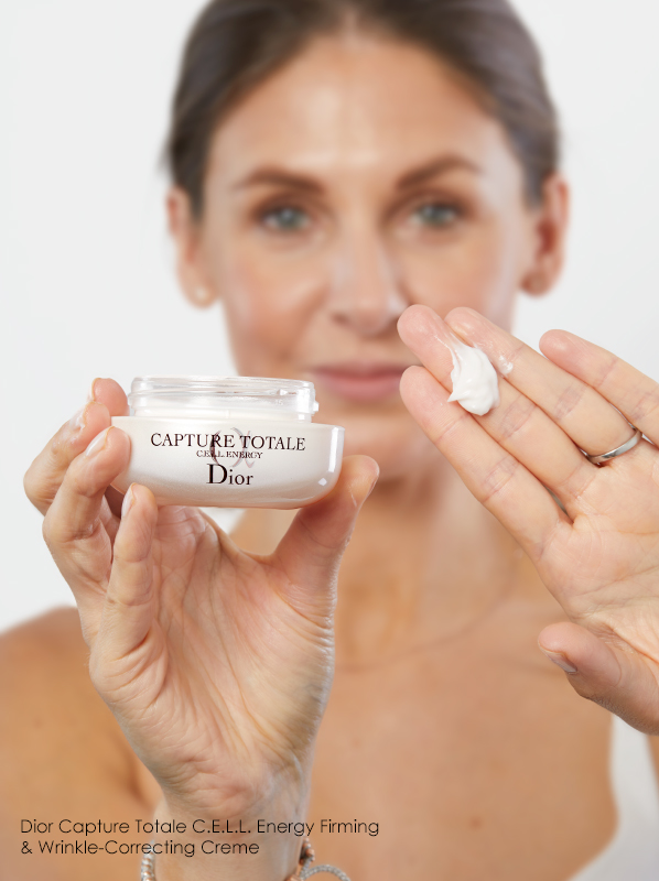 Your evening skincare routine step by step: Dior Capture Totale C.E.L.L. Energy Firming & Wrinkle Correcting Creme