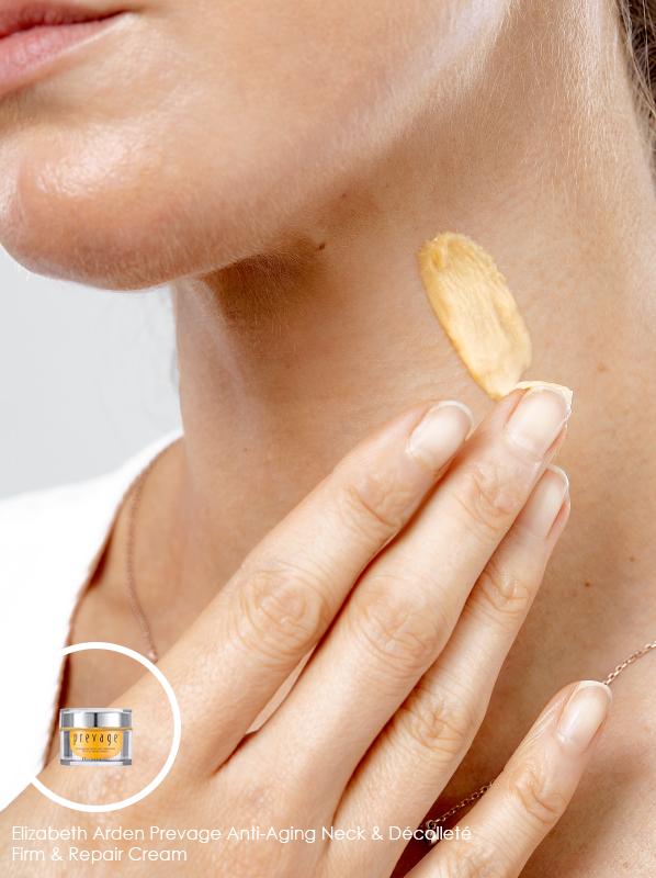 best neck cream for all budgets: Elizabeth Arden Prevage Anti-Aging Neck & Décolleté Firm & Repair Cream