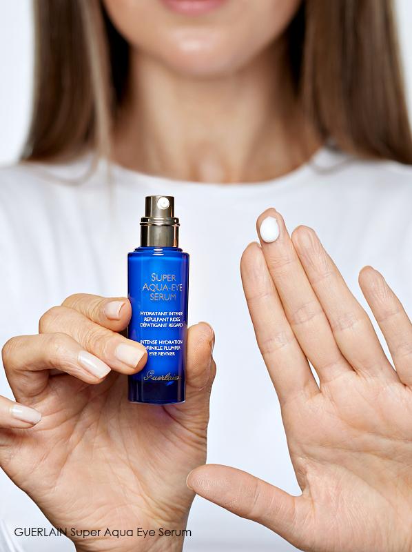 3 Eye Creams to Hydrate Dry Under Eyes: GUERLAIN Super Aqua Eye Serum