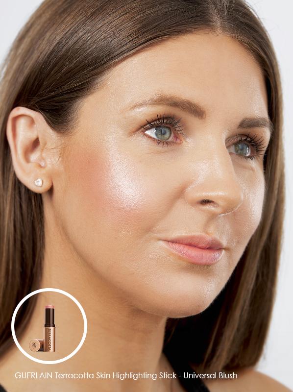 3 Ways to Glow: GUERLAIN Terracotta Skin Highlighting Stick - Universal Blush
