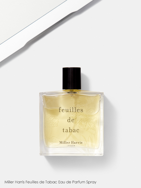 best fragrance for work: Miller Harris Feuilles de Tabac Eau de Parfum Spray