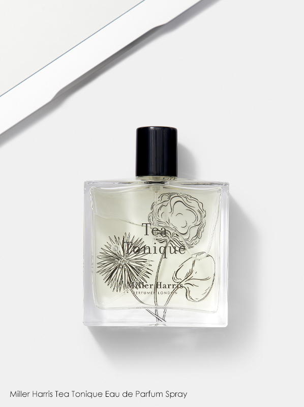 dream holiday fragrance: Miller Harris Tea Tonique Eau de Parfum Spray