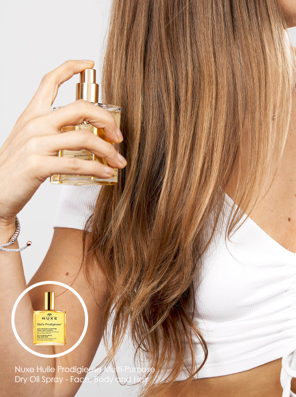 How to choose the best hair oils for your hair type: Nuxe Huile Prodigieuse Multi-Purpose Dry Oil Spray