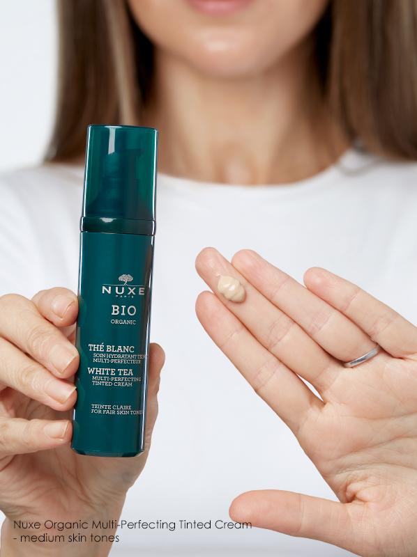 5 of the Best Tinted Moisturisers for Your Skin Type: Nuxe BIO organic Multi-Perfecting Tinted Cream - Medium Skin Tones