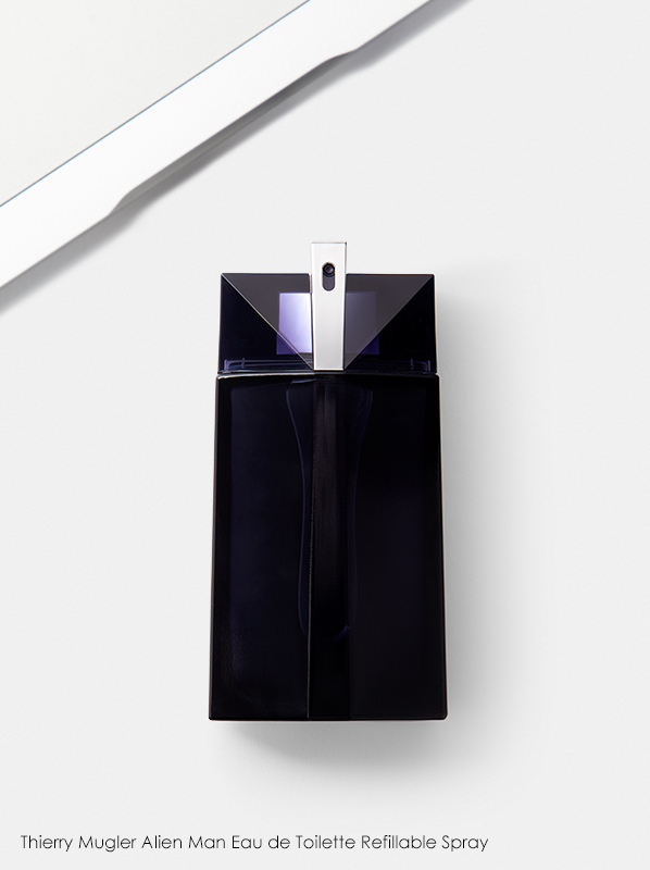 best fragrance for work: Thierry Mugler Alien Man Eau de Toilette Refillable Spray