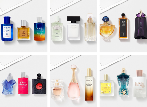 The Escentual Fragrance Hub