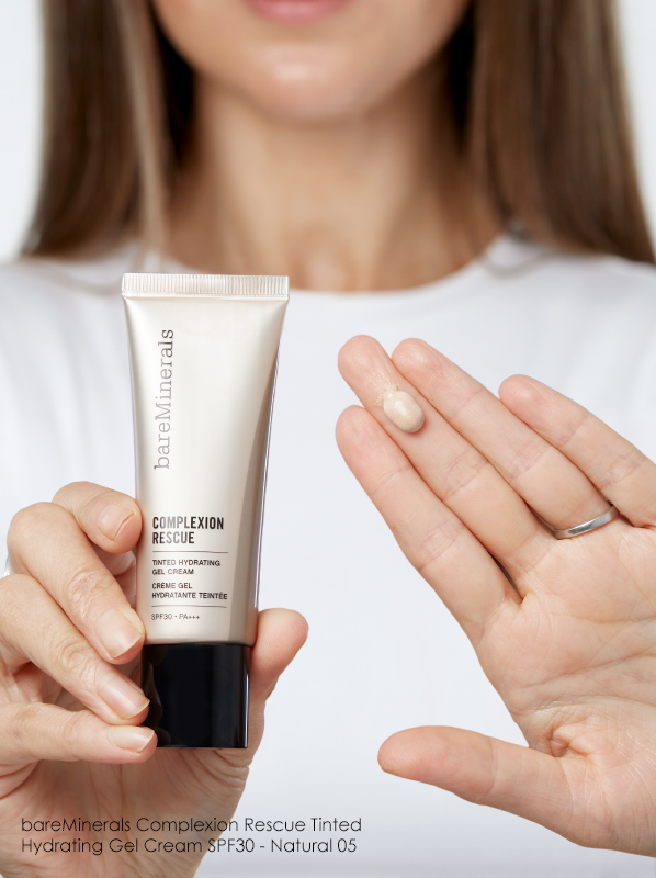 5 of the Best Tinted Moisturisers for Your Skin Type: bareMinerals Complexion Rescue Tinted Hydrating Gel Cream SPF30 (05 Natural)