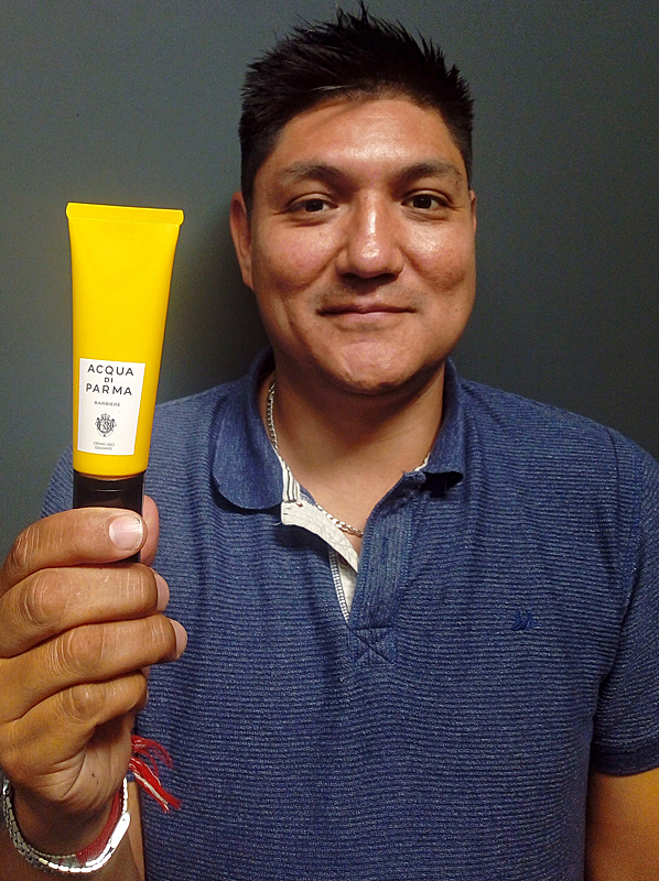 best moisturiser for men: acqua di parma barbiere moisture cream