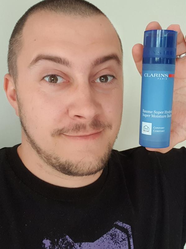 best moisturiser for men: clarinsmen moisture balm