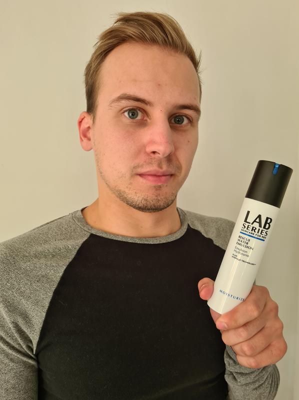 best moisturisers for men: lab series emulsion