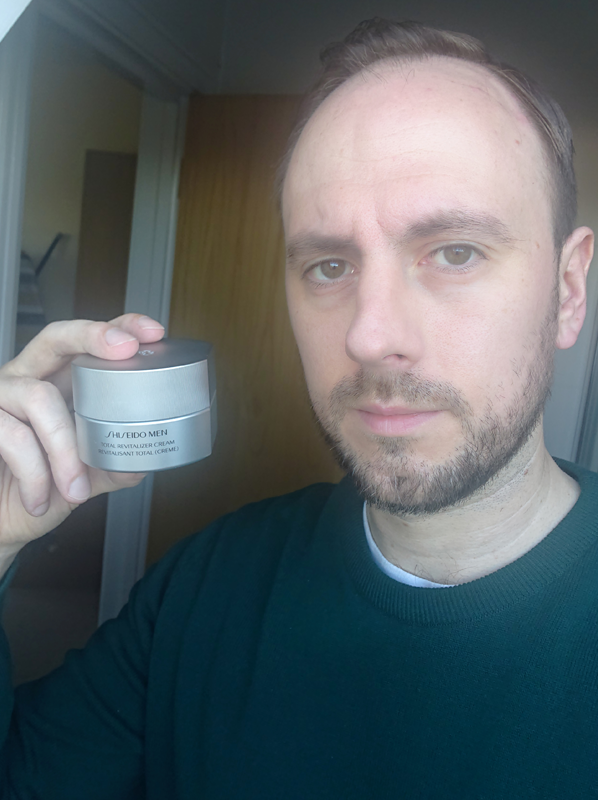 best moisturisers for men: shiseido revitalising cream