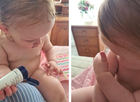 how to use eucerin aquaphor for babies