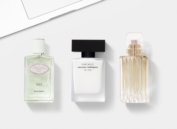 best fragrance for work: prada, narciso and cartier