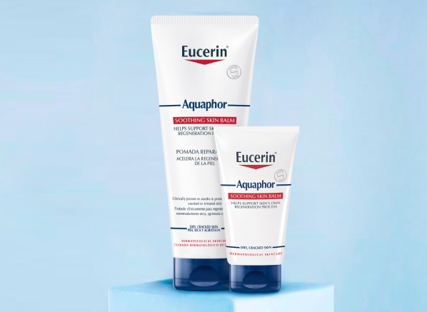 Eucerin Skincare Range for Dry, Cracked, Irritated: Aquaphor