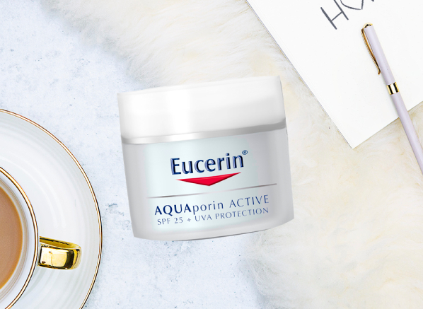 Eucerin Skincare Range for Dehydrated Skin: Aquaporin Active