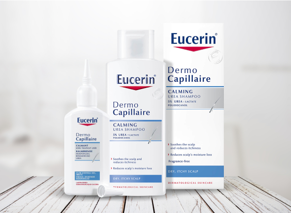 Eucerin Skincare Range for the Scalp: DermoCapillaire