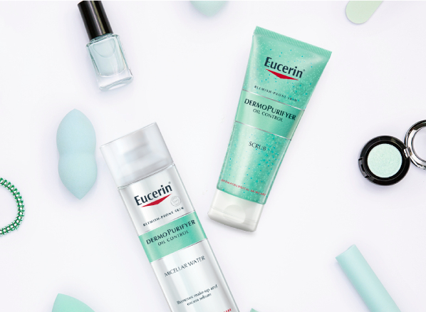 Eucerin Skincare Range for Blemish-Prone Skin: DermoPurifyer