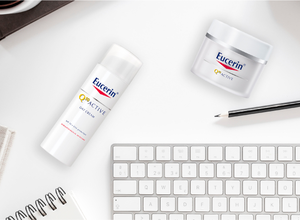 Eucerin Skincare Range for Anti-Ageing Sensitive: Q10 Active