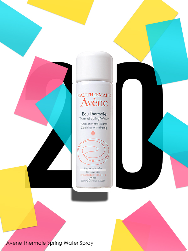 Avene Thermale Spring Water Spray for Escentual 20th birthday bestsellers