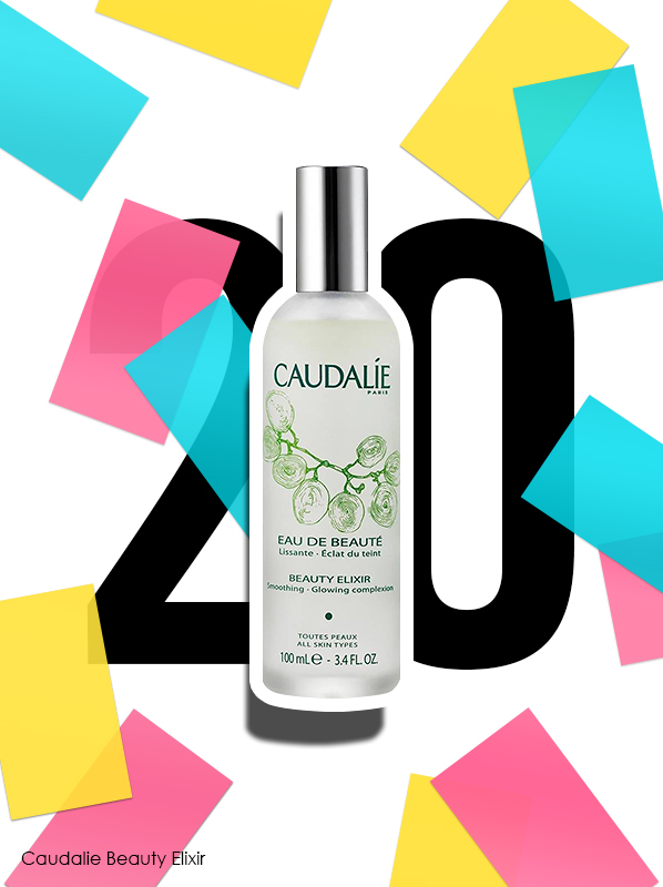 Caudalie Beauty Elixir for Escentual 20th birthday bestsellers
