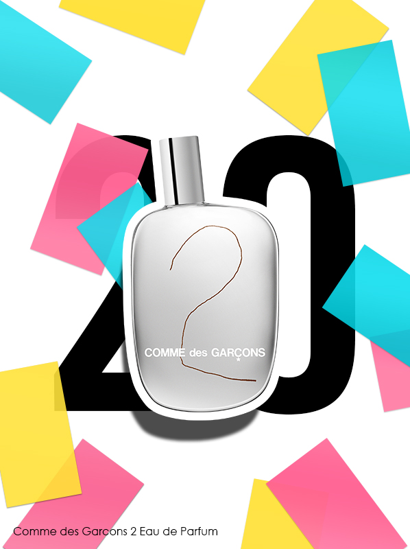 Comme des Garcons 2 Eau de Parfum Spray for Escentual's 20th birthday bestsellers