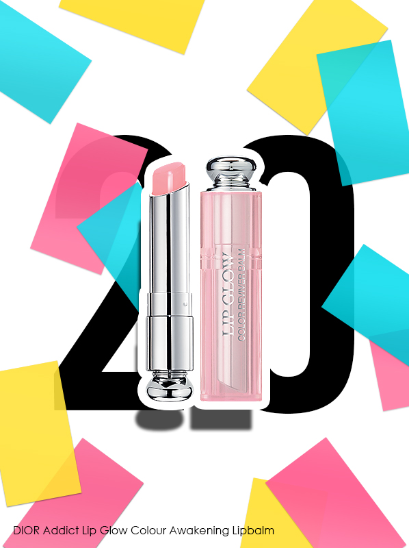 DIOR Addict Lip Glow Colour Awakening Lipbalm for Escentual 20th birthday bestsellers