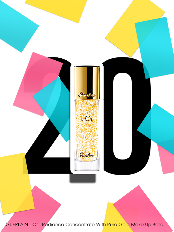 GUERLAIN L'Or - Radiance Concentrate With Pure Gold Make-Up Base for Escentual 20th birthday bestsellers