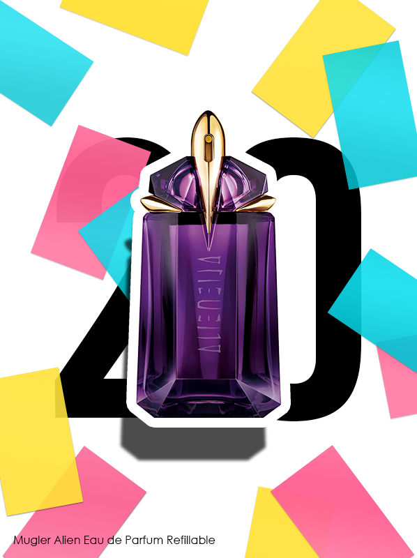 Thierry Mugler Alien Eau de Parfum Spray for Escentual's 20th birthday bestsellers