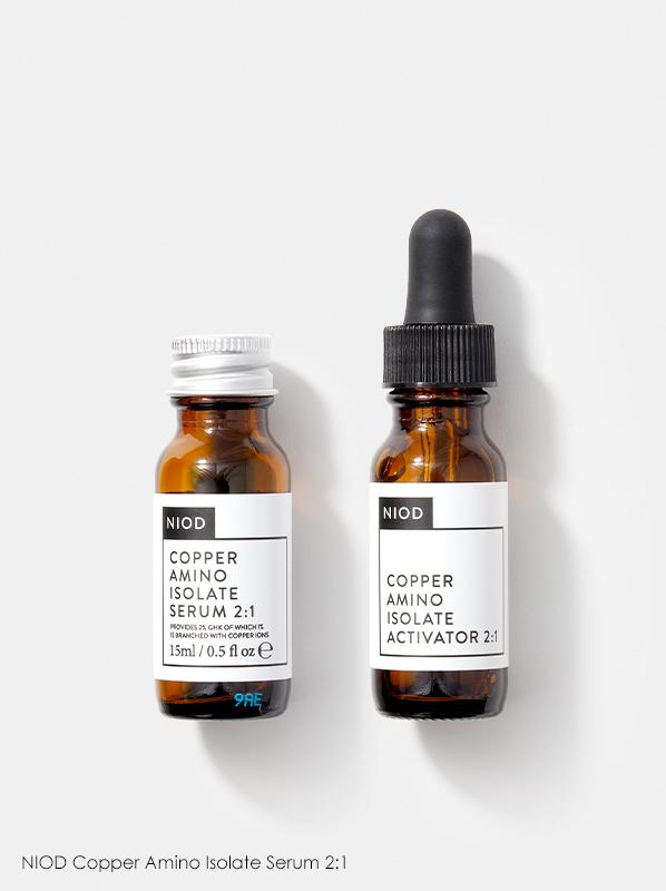 Niod Skincare Guide: Niod Copper Amino Isolate Serum 2:1