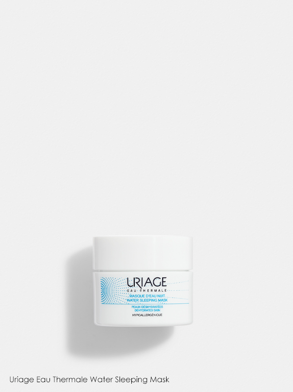 Uriage Eau Thermale Water Sleeping Mask in a review of best selling uriage products