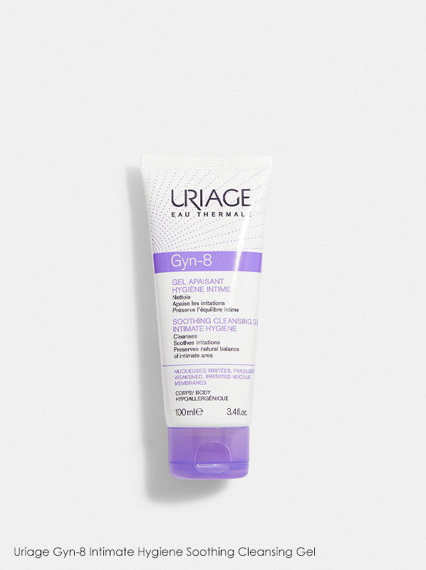 Uriage Gyn-8 Intimate Hygiene Soothing Cleansing Gel in a review of best selling uriage products