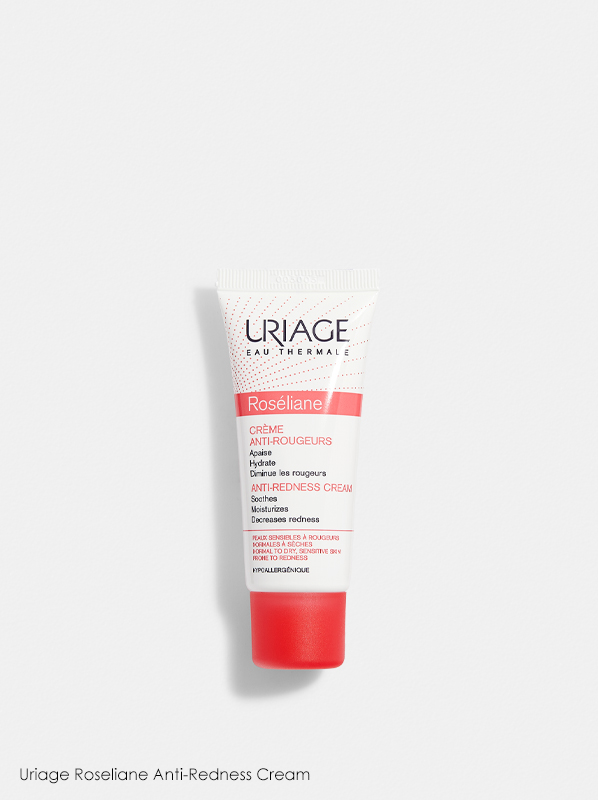 Uriage Roseliane Anti-Redness Cream in a review of best selling uriage products