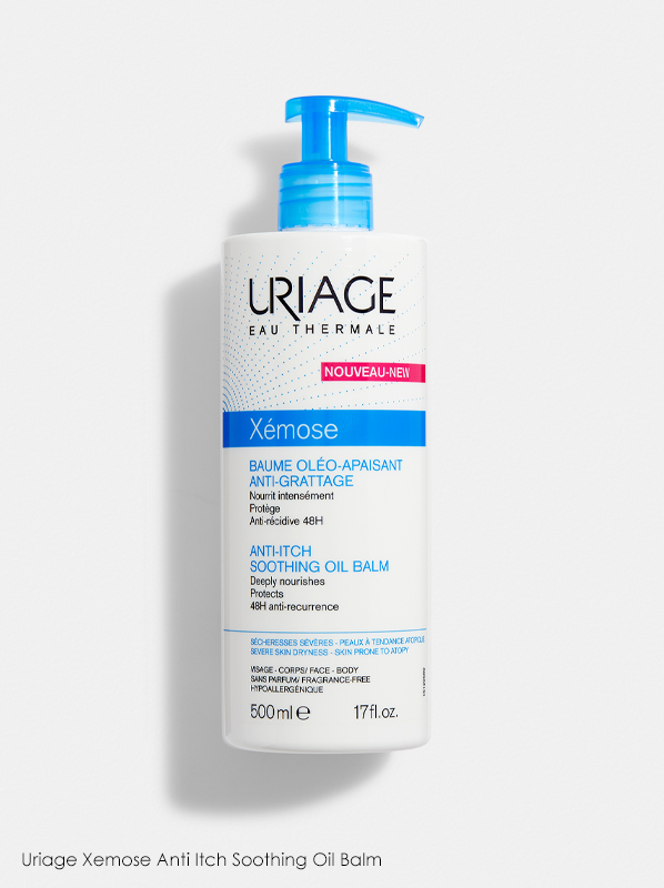 Uriage Xemose Anti Itch Soothing Oil Balm in a review of best selling uriage products