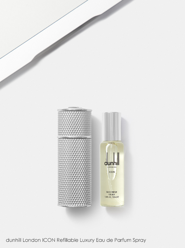 Refillable perfume; dunhill London ICON Refillable Luxury Eau de Parfum Spray
