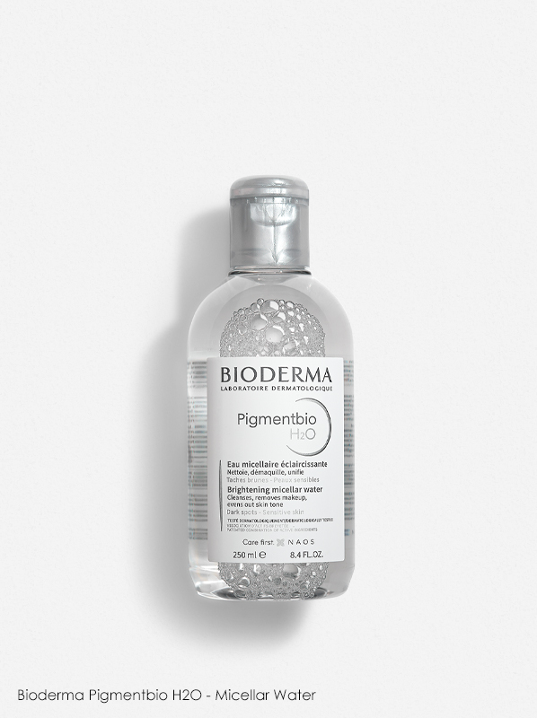 How I reduced my pigmentation in 4 weeks: Bioderma Pigmentbio H2O - Micellar Water