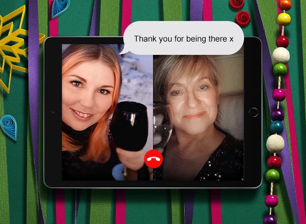 Fragrances She'll Love Escentual Christmas Campaign Stars, Customer Service Pat and Nikki