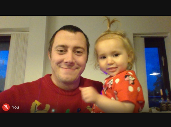 Thoughtful Gifts Campaign Star: Escentual Team Member, Richard with Daughter