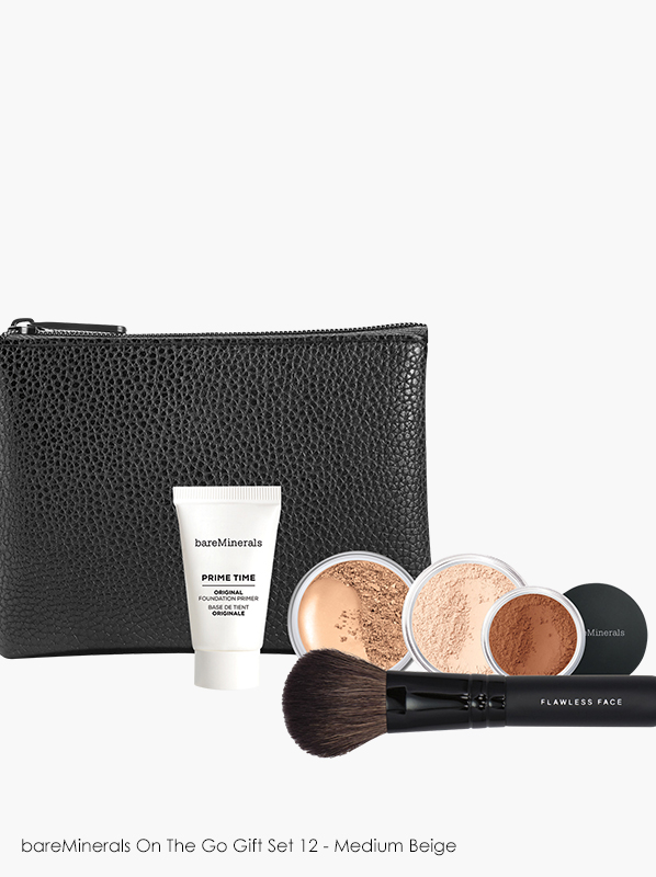 Escentual Best Black Friday Makeup Deals: bareMinerals On The Go Gift Set 12 - Medium Beige
