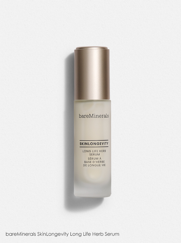 bareMinerals Best-Sellers; bareMinerals SkinLongevity Long Life Herb Serum