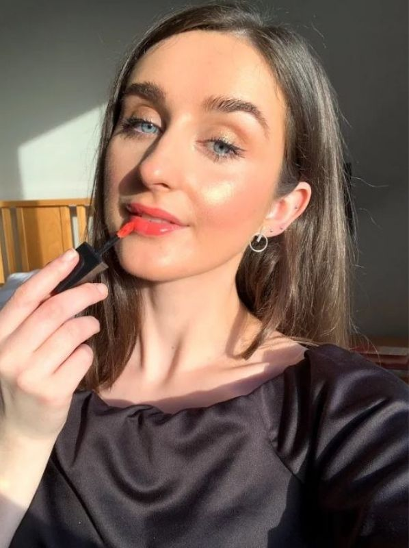 A Love Letter to the Lipsticks we Didn't Wear This Year: Yves Saint Laurent Vernis a Levres Water Lip Stain 605 - Bain De Corail