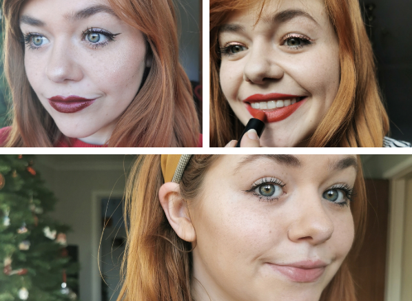 Classic Christmas Makeup: Full Glam vs Au Natural