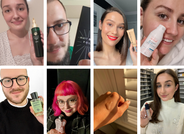 Image of team for 2020 beauty favourites