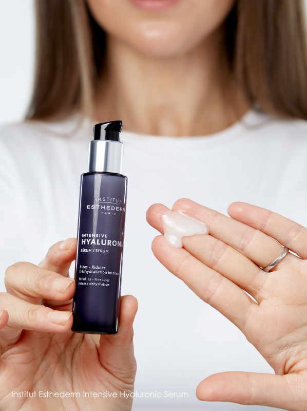 How do I get rid of Forehead Wrinkles? Institut Esthederm Intensive Hyaluronic Serum