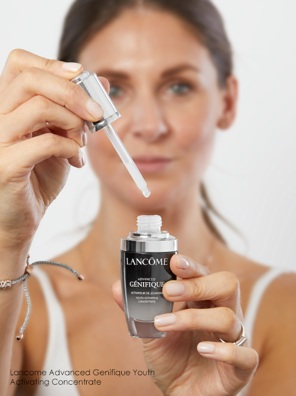 What is the correct order to apply skincare in the morning? Lancome Advanced Genifique Youth Activating Concentrate