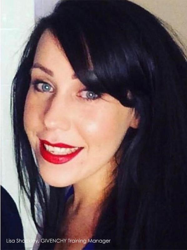 Lymphatic drainage facial: Lisa Shackley GIVENCHY Training Manager