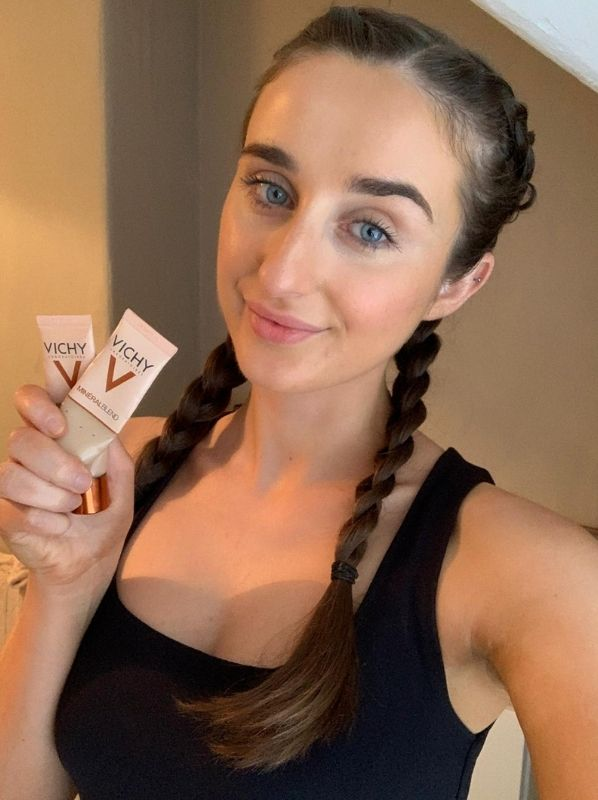 What we used up this month: Vichy Mineralblend Hydrating Foundation