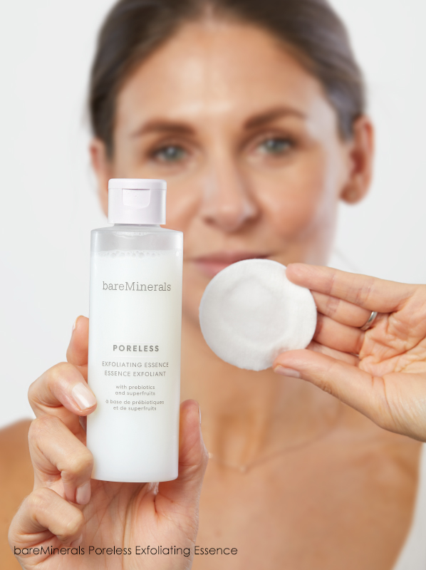 Which order should I apply my skincare products? bareMinerals Poreless Exfoliating Essence
