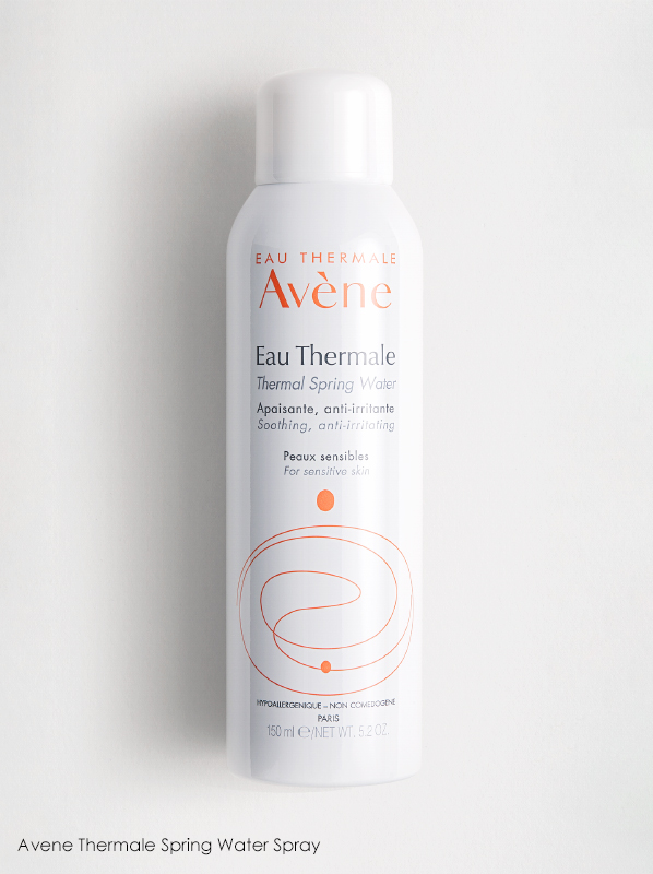 Avene Thermale Water Spray in a French Pharmacy multipurpose Skincare edit