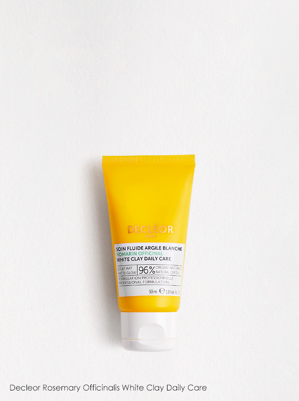Discover What's New In French Pharmacy: Decleor Rosemary Officinalis White Clay Daily Care
